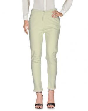 Повседневные брюки CAPE HORN. Цвет: светло-зеленый