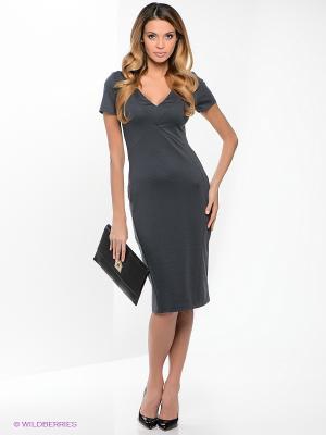 Платье МадаМ Т. Цвет: темно-серый