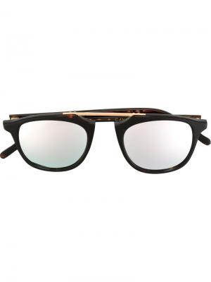 Солнцезащитные очки Cannes Spektre. Цвет: коричневый