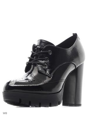 Туфли ELCHE. Цвет: черный