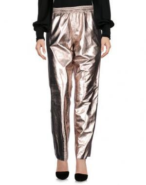 Повседневные брюки ENES. Цвет: медный