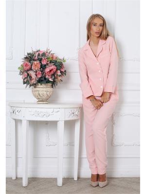 Костюм Lipinskaya Brand. Цвет: розовый