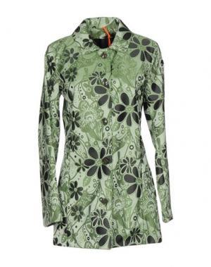 Легкое пальто RRD. Цвет: светло-зеленый