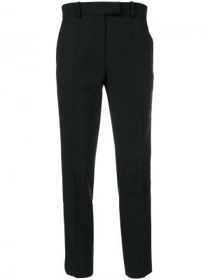 Укороченные классические брюки Racil. Цвет: чёрный