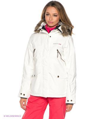 Куртка RONJA DIDRIKSONS. Цвет: белый