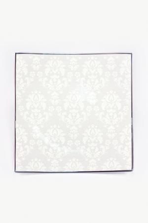 Набор тарелок 20,5 см, 6 шт. Royal Porcelain. Цвет: белый, серый