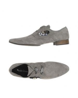 Обувь на шнурках MANILA GRACE. Цвет: серый