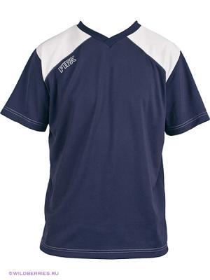 Футболка FIFA. Цвет: темно-синий (осн.), белый