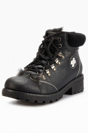 Boots Andrea Conti. Цвет: black