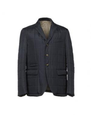 Куртка ANGELO NARDELLI. Цвет: грифельно-синий