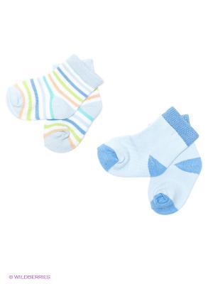 Носочки (2 пары) Luvable Friends. Цвет: голубой, синий