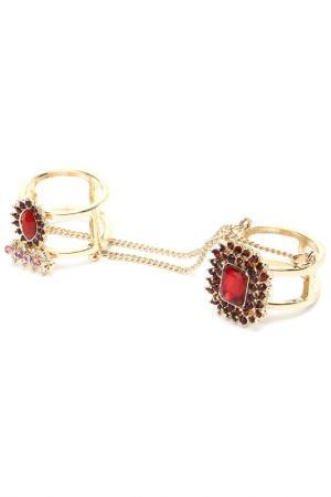 Кольцо Diva. Цвет: красный
