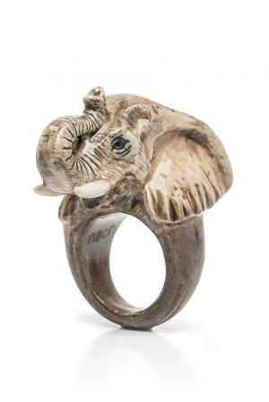 Кольцо 184771 Nach Jewellery. Цвет: серый
