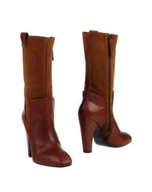 Полусапоги и высокие ботинки GAIA D'ESTE. Цвет: коричневый