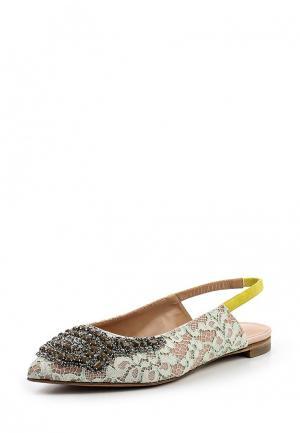 Туфли Twin-Set Simona Barbieri. Цвет: разноцветный