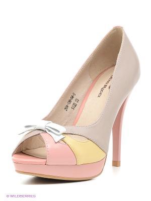 Туфли Dino Ricci. Цвет: розовый, персиковый, сиреневый