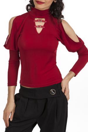 Блуза Miss Pink. Цвет: красный
