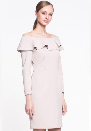 Платье Genevie. Цвет: розовый