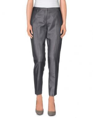 Повседневные брюки FABERGE&ROCHES. Цвет: свинцово-серый