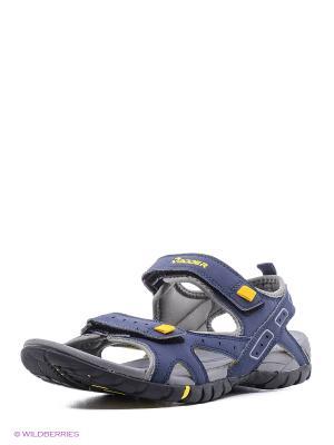 Мужские сандалии Radder. Цвет: синий