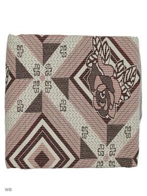 Гобеленовое покрывало ЛЮКС, 150*200 Dorothy's Нome. Цвет: розовый, белый, черный, бордовый