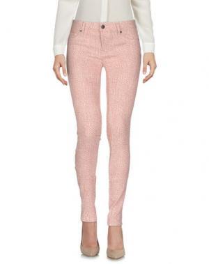 Повседневные брюки GENETIC DENIM. Цвет: пастельно-розовый