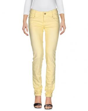 Джинсовые брюки CUSTO BARCELONA. Цвет: желтый