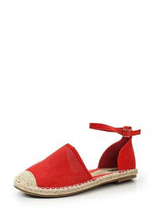Туфли Max Shoes. Цвет: красный
