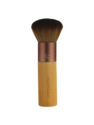 Кисть для бронзера Bamboo Bronzer Brush Ecotools. Цвет: золотистый, коричневый