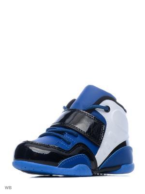 Ботинки PlayToday. Цвет: темно-синий, белый