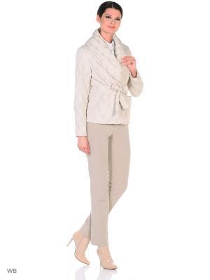 Куртка Maritta. Цвет: молочный