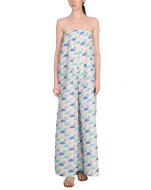 Пляжные брюки и шорты MARZIA GENESI SEA. Цвет: бирюзовый