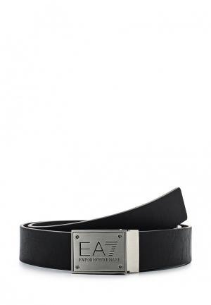 Ремень EA7. Цвет: черный