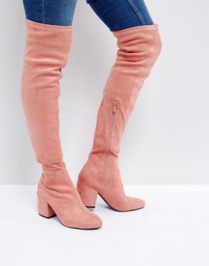 Raid Ботфорты Kola. Цвет: розовый