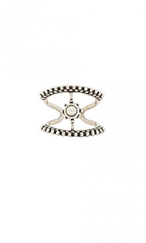 Кольцо the versailles Luv AJ. Цвет: металлический серебряный
