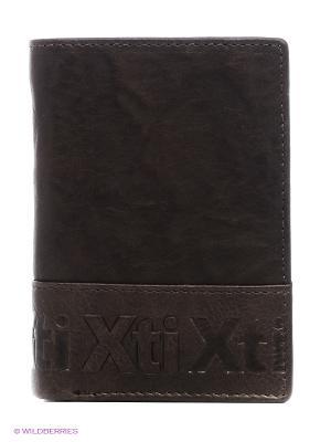 Портмоне XTI. Цвет: коричневый