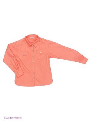 Блузка Sabotage. Цвет: персиковый