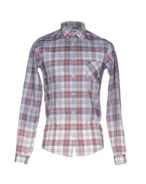 Pубашка AGLINI. Цвет: серый