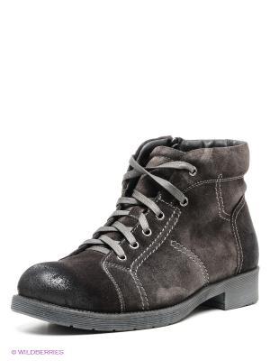 Ботинки Mario Ponti. Цвет: серо-коричневый