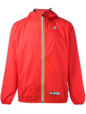 Куртка на молнии Les (Art)Ists. Цвет: красный