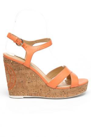 Босоножки Alba. Цвет: оранжевый