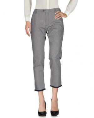 Повседневные брюки INDIVIDUAL. Цвет: грифельно-синий
