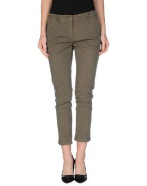 Повседневные брюки LOT 78. Цвет: зеленый-милитари
