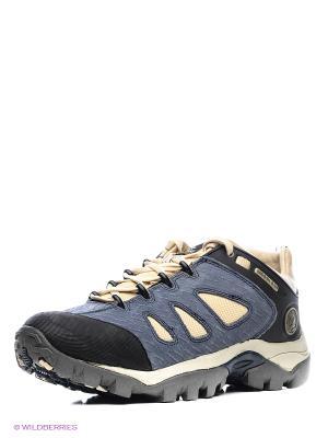 Спортивные ботинки WOODLAND. Цвет: голубой