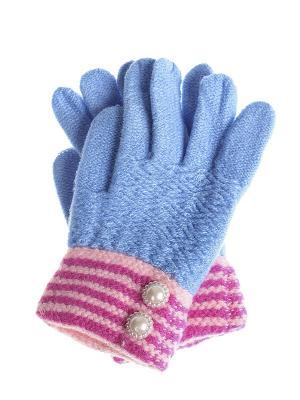 Перчатки детские Migura. Цвет: голубой