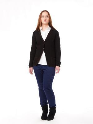 Пиджак be...tween. Цвет: темно-коричневый