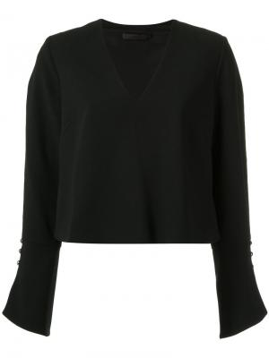 Long sleeves blouse Giuliana Romanno. Цвет: none