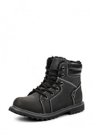 Ботинки Obba. Цвет: черный