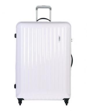 Чемодан/сумка на колесиках BRIC'S. Цвет: белый