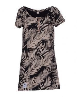 Короткое платье IRIEDAILY. Цвет: черный